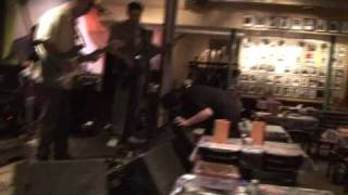 Soundcheck at Rams Head - May 2009 - Red Streamliner