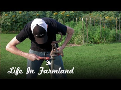 Leaking Yard Hydrant Repair Part 2   Installing Repair Kit