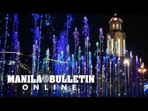 Musical dancing fountain unveiled at Bonifacio monument in Manila