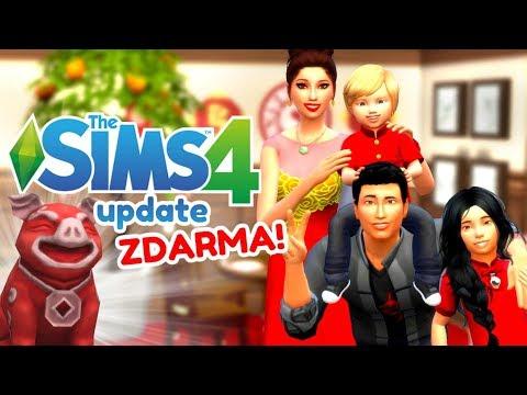🎆 ZDARMA: KOLEKCE LUNÁRNÍ ROK 2019 🐷   Narozeninová aktualizace The Sims 4 🥂 thumbnail
