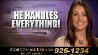 Baton Rouge Auto Accident 18-Wheeler Wreck Attorney - Gordon McKernan - 25X