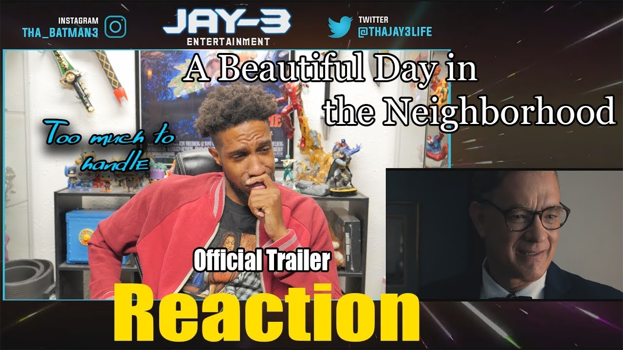 a beautiful day in the neighborhood official trailer Reaction