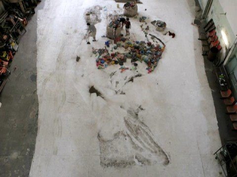 Vik Muniz Pictures Of Garbage Irm 227 Youtube
