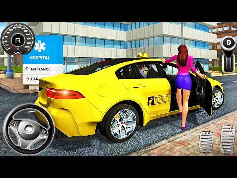 Taxi Game Yellow Cab - Car Driving Simulator - Android GamePlay