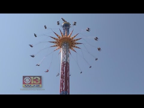 Lasso Of Truth Gives Riders Superhero Experience Above Six Flags America