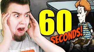 WYRZUCILIŚMY TIMMIEGO ZE SCHRONU! CO ZA ZŁO (60 Seconds #32)