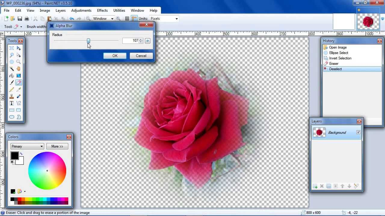 Paint Net Transparent Background Not Working