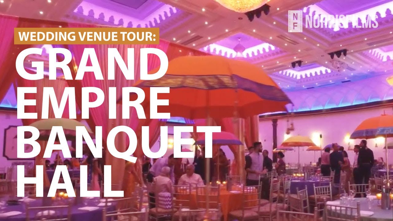 Grand Empire Banquet Hall - Brampton // Wedding Tour Walk-Through ...