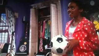Ant farm the soccer ball song sung by china Anne McClain