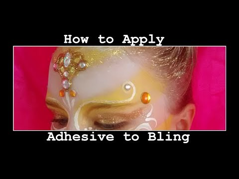 How to Apply Adhesive to Your Jewel Bling