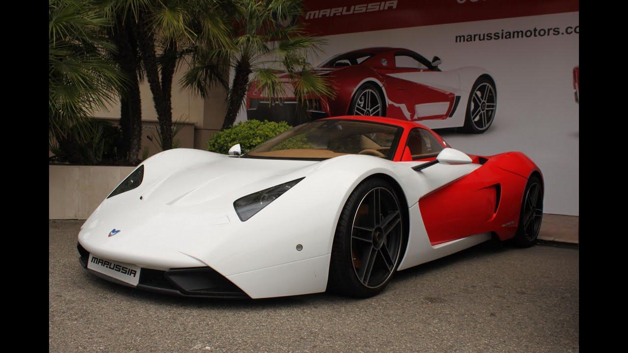 The NEW Marussia B1 In Monaco In Full 1080p HD - YouTube
