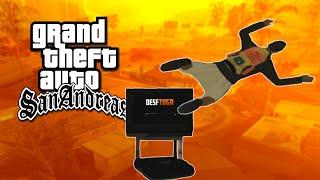 Momentos Engraçados: GTA San Andreas (Saltos, Bug Paraquedas & Muito mais!)