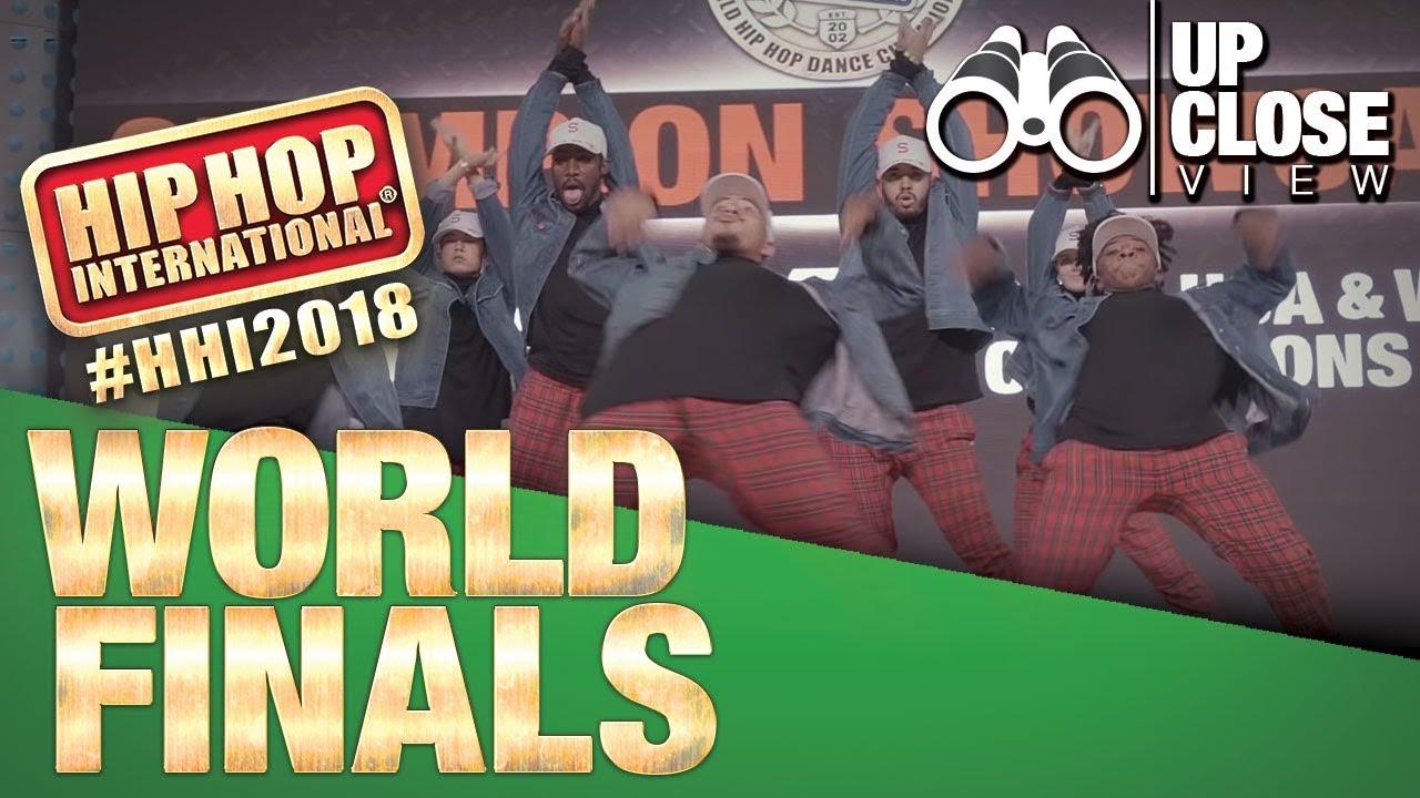 Download UpClose View: S-Rank - USA | Champion Showcase | 2018 Hip Hop International
