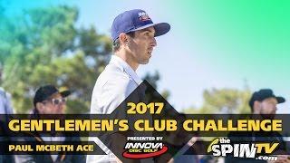 Paul McBeth Disc Golf Hole in One - Final Round GCC