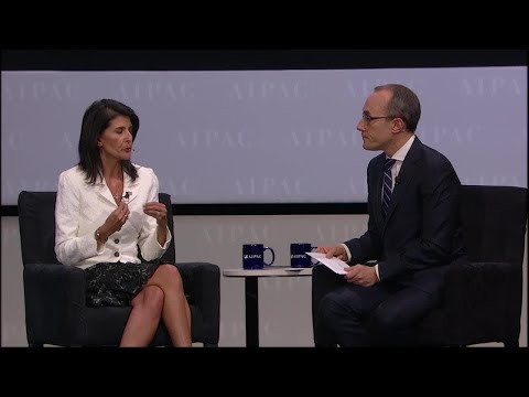 U.N. Ambassador Nikki Haley Interview