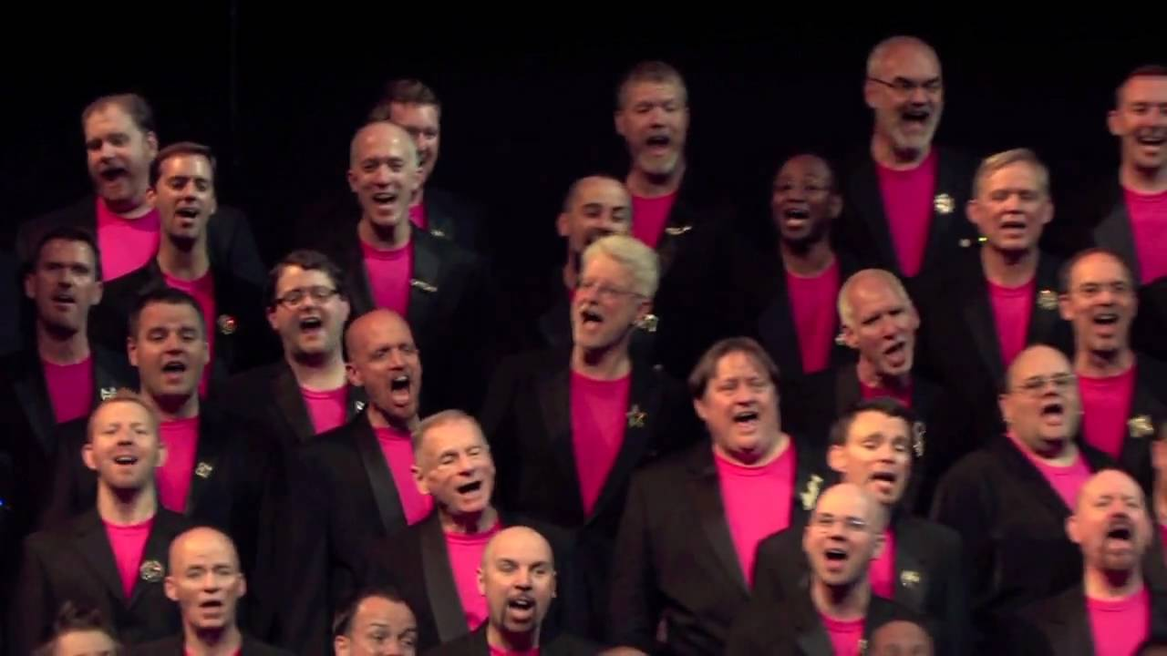 mens chorus Rainy city gay