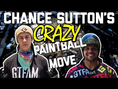 Chance Sutton Crazy paintball move at Hollywood Sports Park!!!!