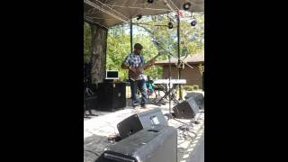 Jermaine Morgan Playing from The Journey Continues Album ,Flywheel Festival Houston MS