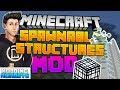 Minecraft Console/PE/Java Spawnable Structures Prototype Showcase (Modding Mondays - 4)