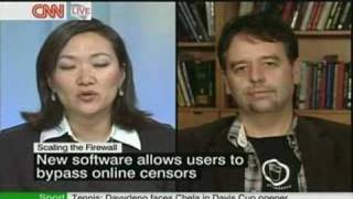 psiphon with Ron Deibert on CNN International
