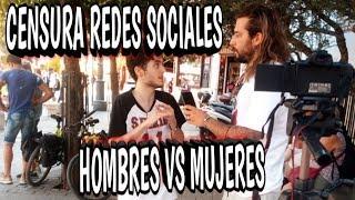 CENSURA REDES SOCIALES HOMBRES VS MUJERES