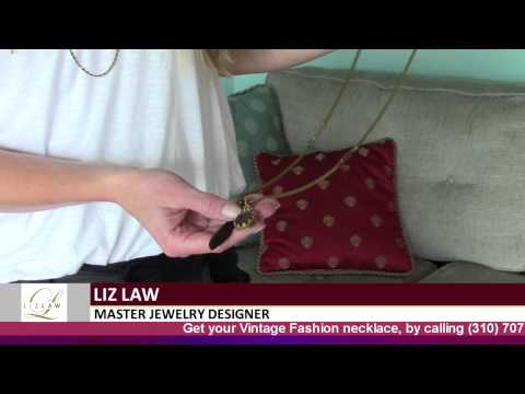 Liz Law Jewelry | Designer Liz Law shows her Vintage Fashion collection