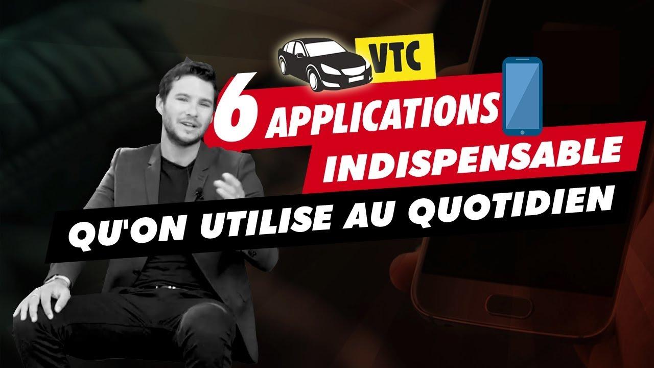 6 applications indispensables dans le VTC