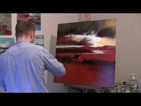 Uig Sky PART 1 Landscape Painting Demonstration