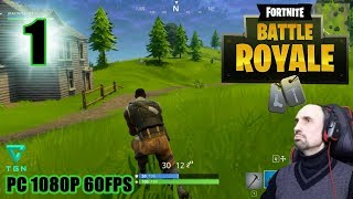 FORTNITE BATTLE ROYALE PC EN ESPAÑOL GAMEPLAY #1 MULTIJUGADOR 1080P 60FPS JUEGO GRATIS FREE TO PLAY.