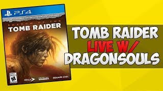 tomb raider ps4 slim gameplay livestream pt5
