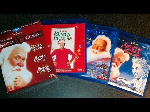 The Santa Clause Trilogy Collection Blu-ray Unboxing (1994,2002,2006) Tim Allen Mp3