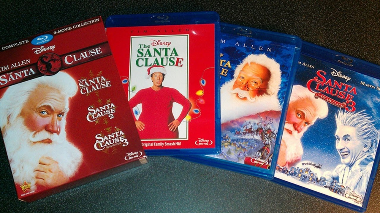 the santa clause trilogy collection bluray unboxing 1994