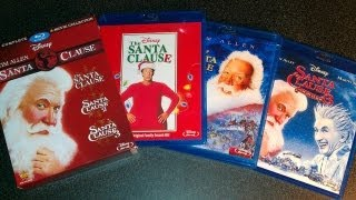 The Santa Clause Trilogy Collection Blu-ray Unboxing (1994,2002,2006) Tim Allen