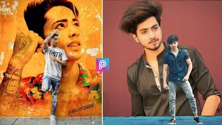 PicsArt photo editing || Picsart own wall photo editing || new creative edit