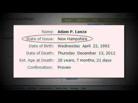 Adam Lanza: The fictional perpetrator of the Sandy Hook ...  |Adam Lanza Obituary