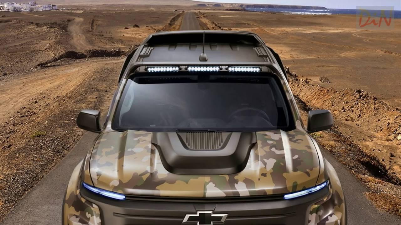 Chevy Colorado Zh2 >> 2017 Chevrolet Colorado ZH2 Fuel Cell Vehicle - YouTube