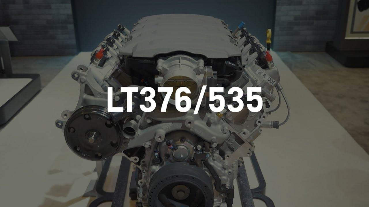 LT376/535 Crate Engine Specs | Chevrolet Performance | SEMA 2016