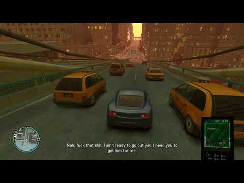 Grand Theft Auto IV (4K) - Dwayne pre-mission phone call The Holland Play