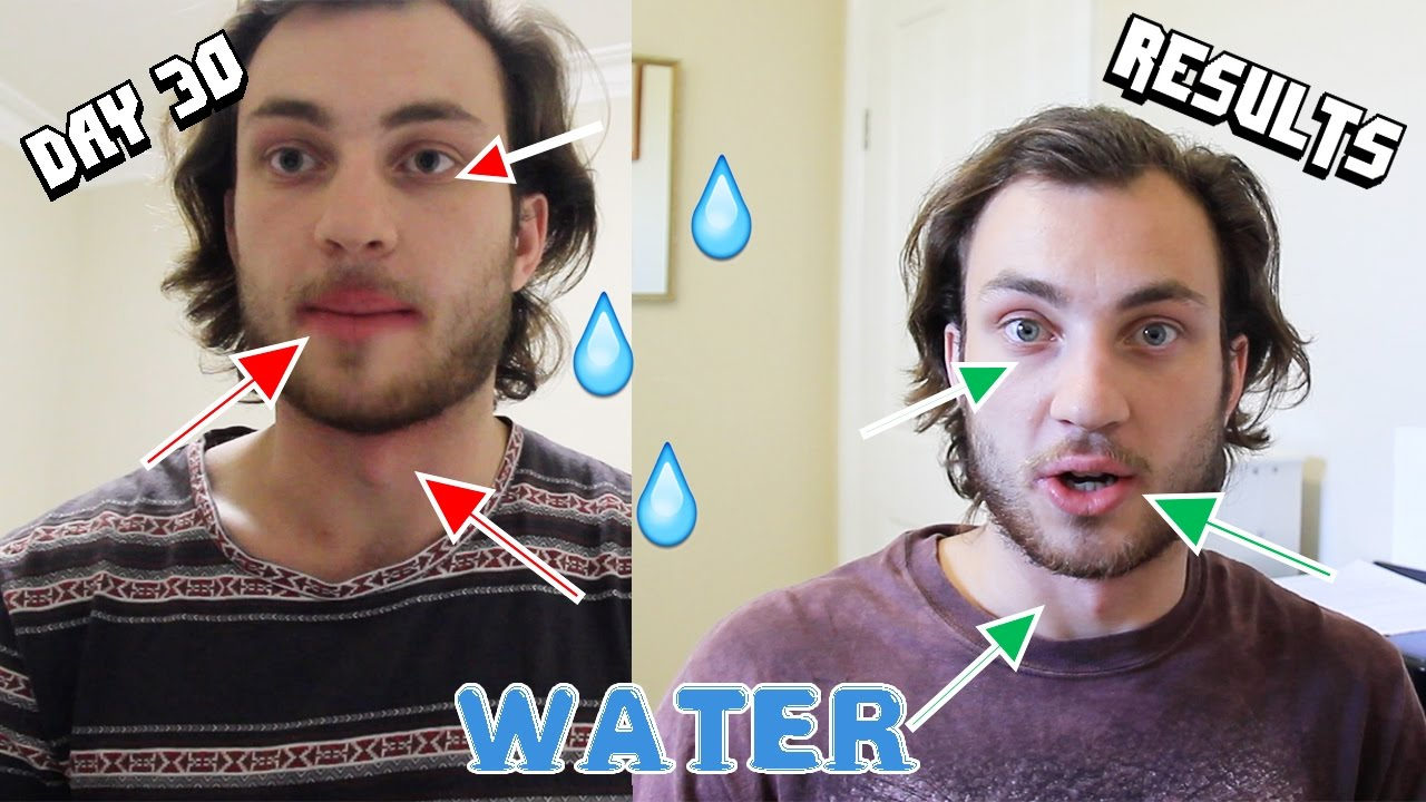 Drinking Three Litres Of Water A Day