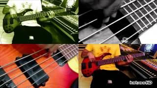 Bruno Mars - Liquor Store Blues Feat. Damian Marley (bass cover) - Instrumental