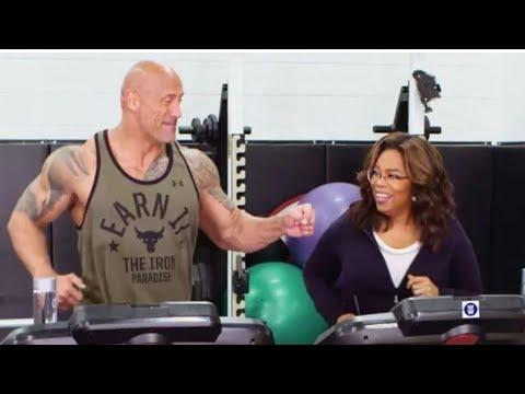 Oprah Winfrey and Dwayne Johnson Joke About Being 'Running ...