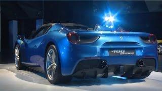 「Ferrari 488 Spider ジャパン・プレミア」が、10月23日、横浜で開催さ...