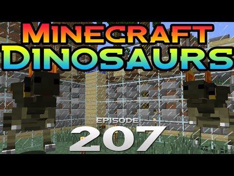Minecraft Dinosaurs! || 207 || The dilophosaurus born