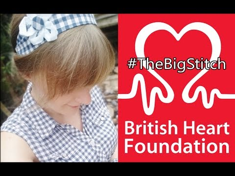 #TheBigStitch - My Upcycle Adventure with The British Heart Foundation ♥