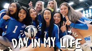 VOLLEYBALL DAY IN MY LIFE | Club Volleyball at San Jose State University!