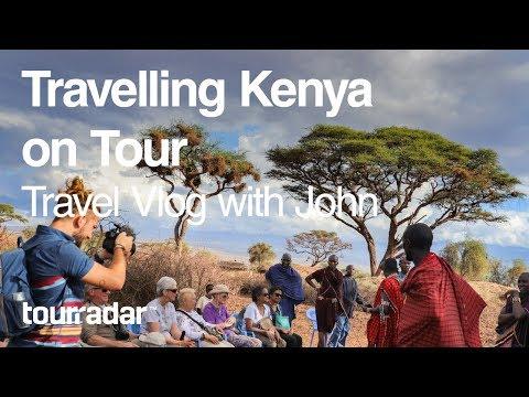 Travelling Kenya on Tour: Travel Vlog with John