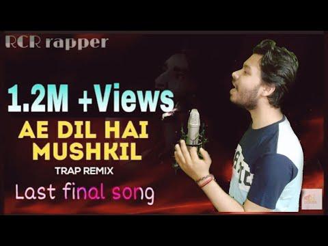 ae-dil-hai-mushkil-rap-cover---rcr-rap-version- -tribute-to-rcr- -new-rap-song-2020- -mtv-popular