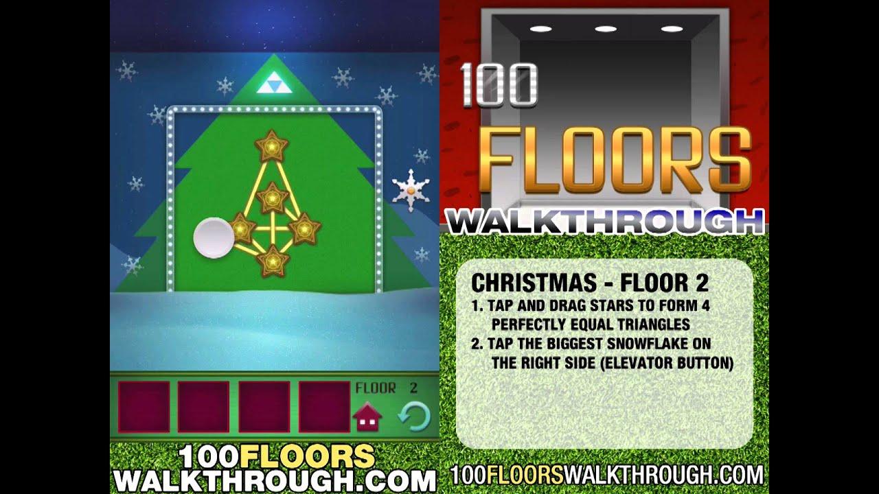 100 Floors Christmas Floor 2 | Seasons Tower Christmas Special ...