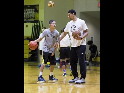 Floppy Shooting Drill With Danny Green - San Antonio Basketball Training