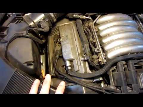 VW B5 Passat V6 28L  PCV System Replacement  YouTube
